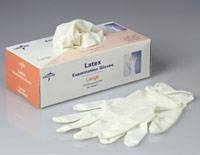 Latex Exam Gloves, Non-Sterile
