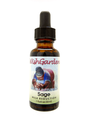 WishGarden Sage Milk Reduction, 1oz.