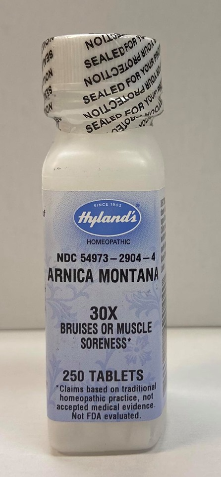 Hyland's Homeopathic Arnica 30x, 250 tabs