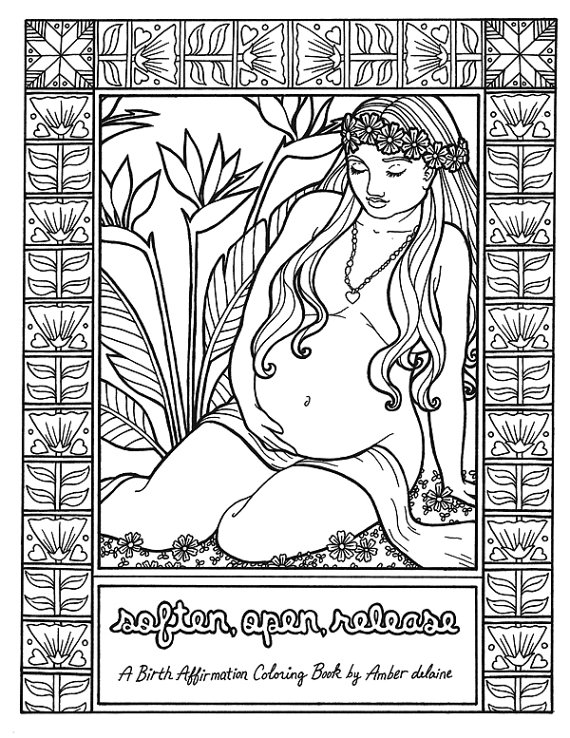 Soft Open Release - An Adult Coloring Book
